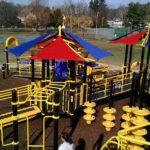 playground featuring ramp access and fun activities
