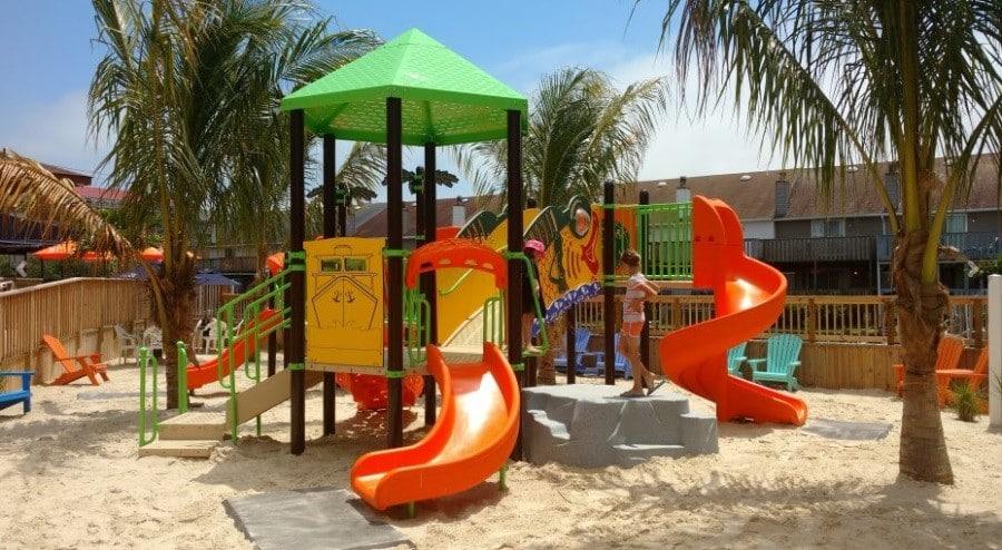 playground on Resort Area