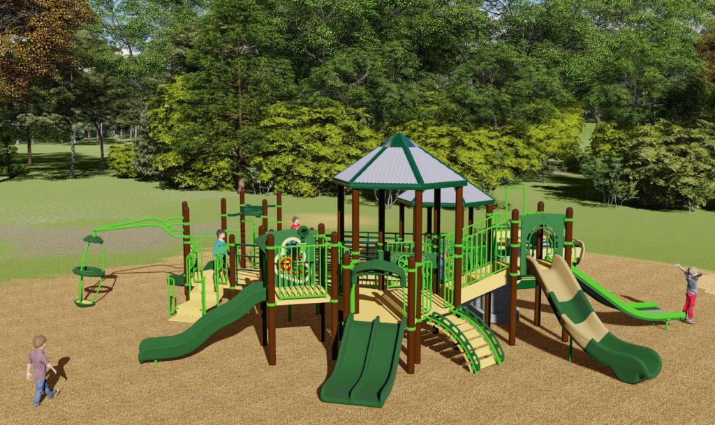 Allenwood Elementary Playground